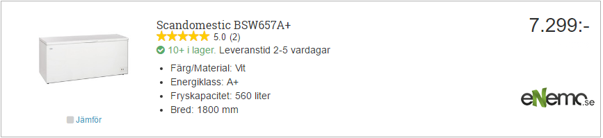 Scandomestic BSW657a+